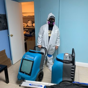 Residential Cleaning Service Person Image