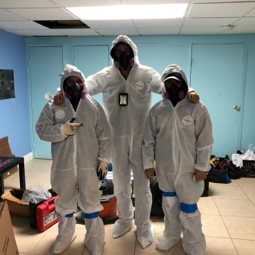 Apartment Cleaning Service Team