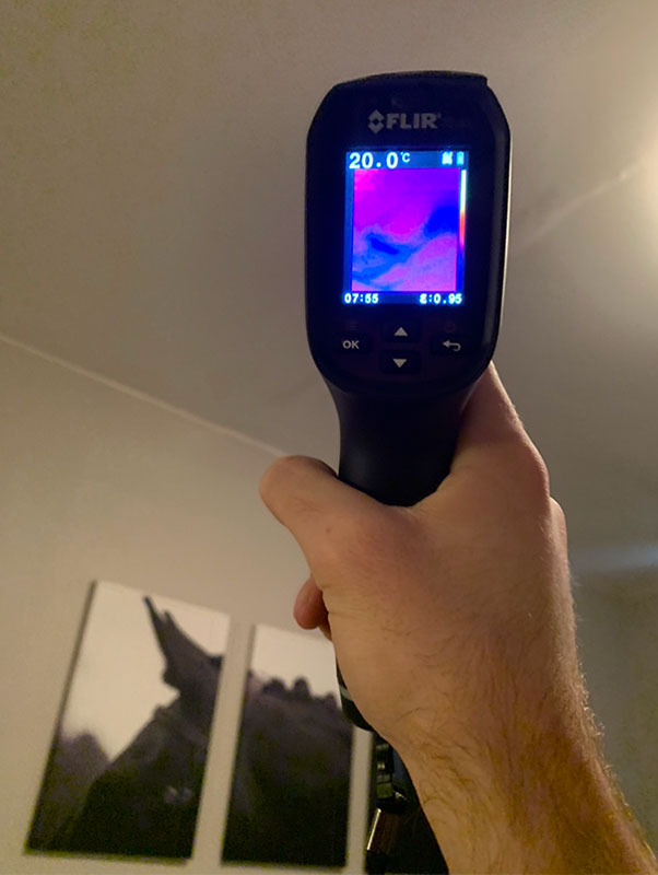 Mold Services by Infrared Technology