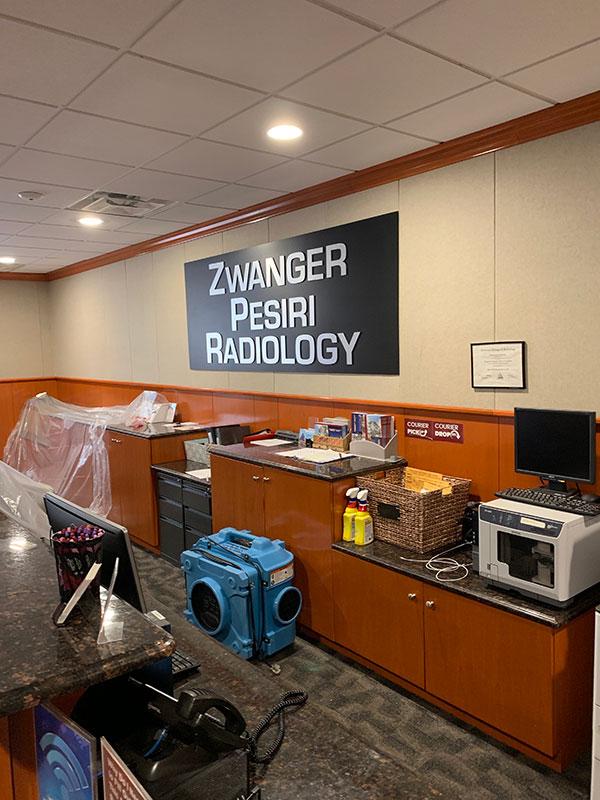 Mold Services at Zwanger Pesiri Radiology